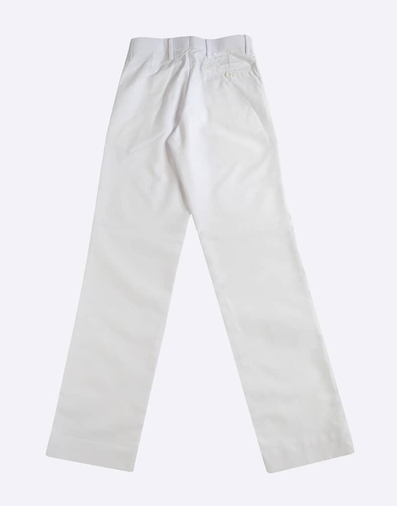 White Full Pant