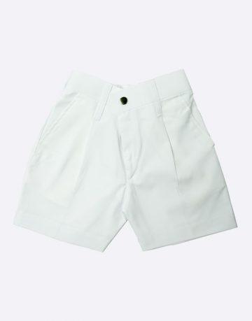 White Half Pant
