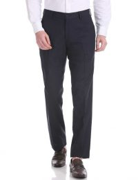 blue black mens trousers