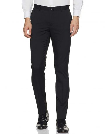 Black Men's Trousers Hirawats
