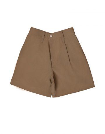 Brown half pant