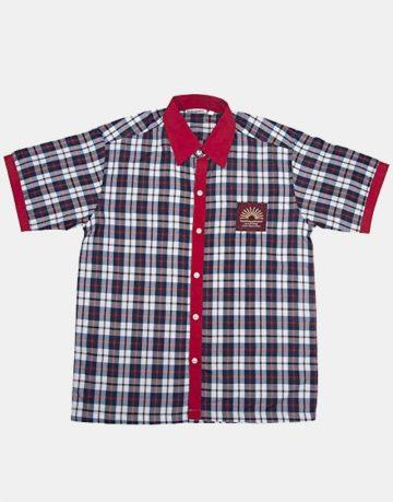 Kendriya Vidyalaya boys shirt