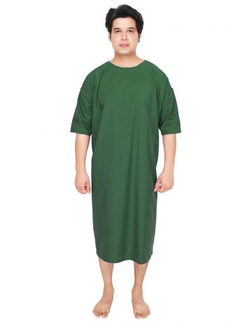 patient-gown-green