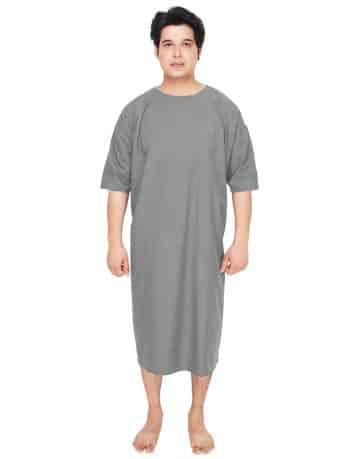 patient-gown-grey