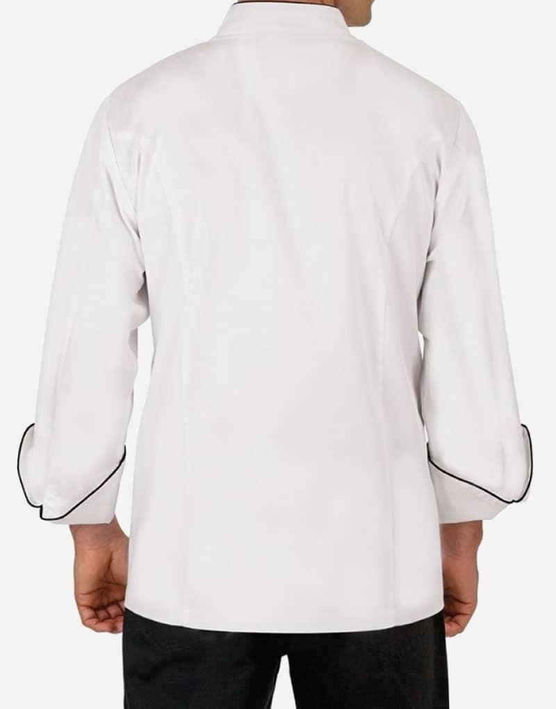 White Full Sleeves Chef Coat