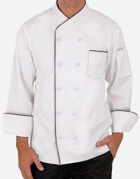 Premium white chef coat for men