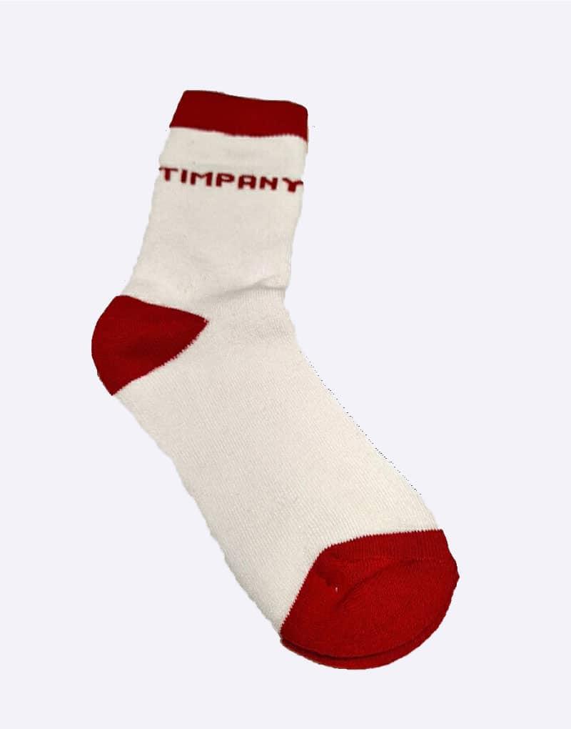 Timpany Red Socks