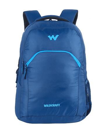 Unisex Luxury Blue Laptop Backpack with Internal Organizer