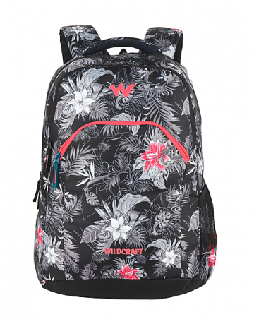 Unisex Floral Laptop Backpack with internal organizer