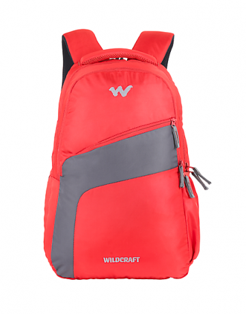 red bags and backpacks wildcraft
