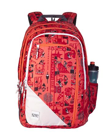Wiki 7 Jock Backpack Orange