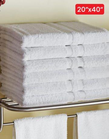 Luxury Hotel & Spa Bath Towels