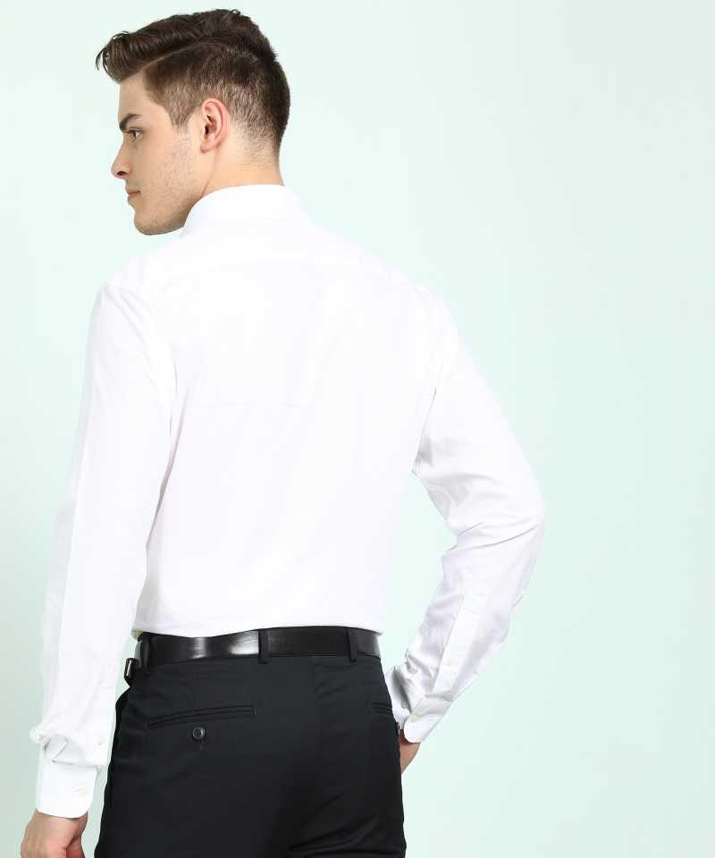 Men's White Formal Shirt
