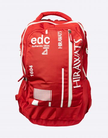 red color school bags