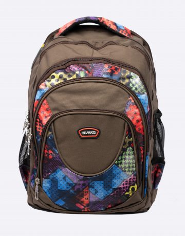 Unisex Mixed Graphic School Bag