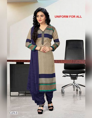 Multi Color Uniform for all Chudidhar Fabrics