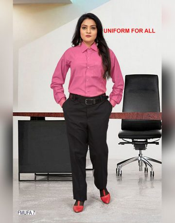 Women's Pink Uniform Shirt Fabrics