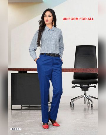 Women's Uniform for All Checks Shirt Fabrics