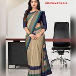 Multi-color Uniform for All Saree