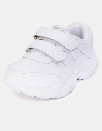 White runner shoes