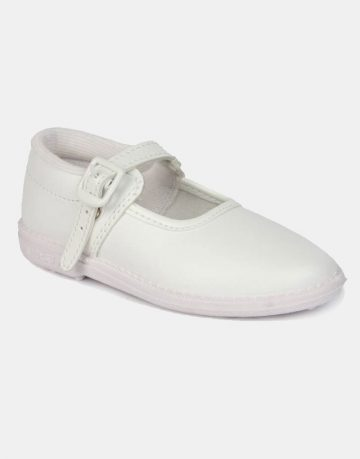 ZEN girls white shoes