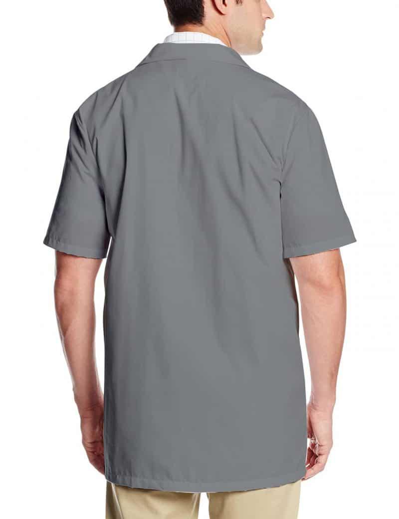 Grey Lab Coat - Half Sleeve