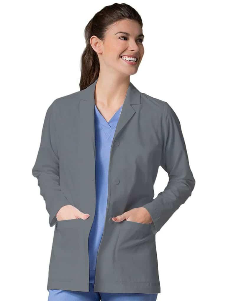 Full sleeve Grey Lab Coat