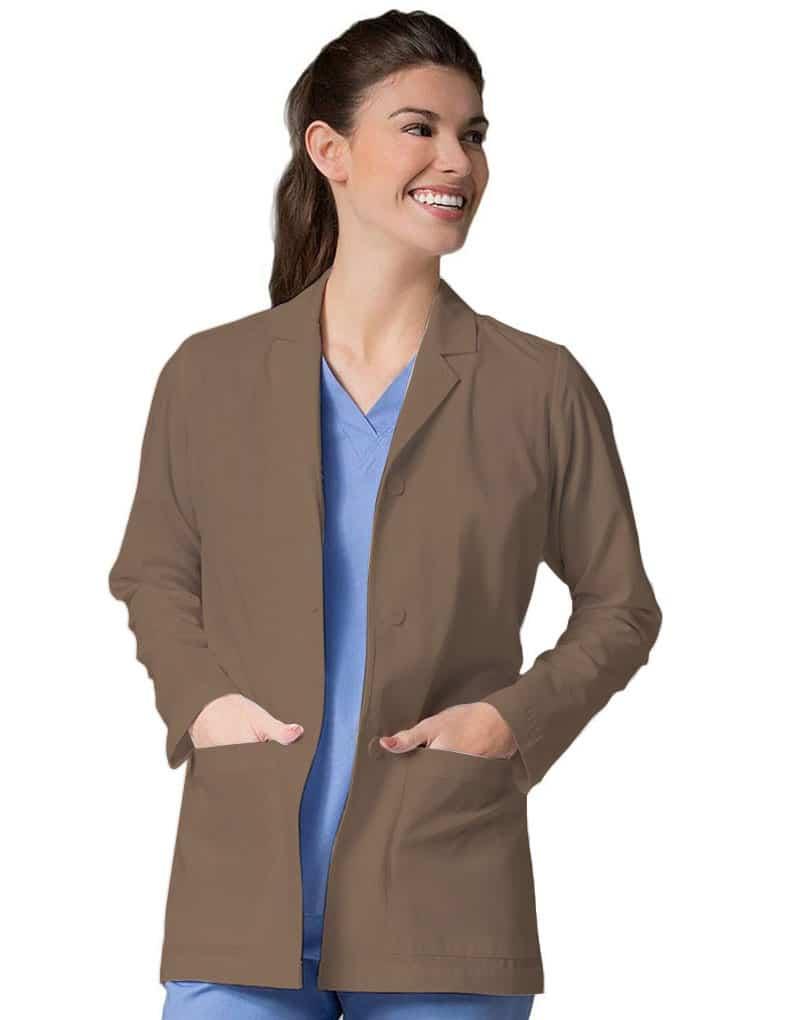 Brown Lab Coats - Full Sleeves (Khaki)