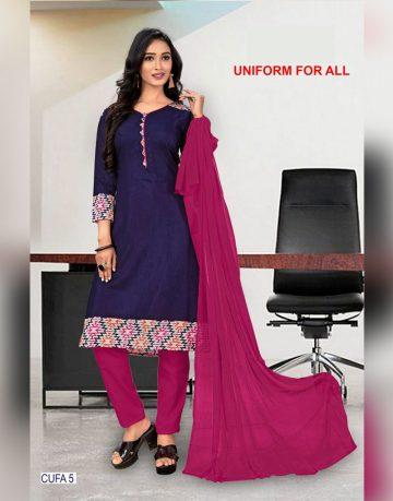 purple-corporate-uniform-for-all-chudidhar