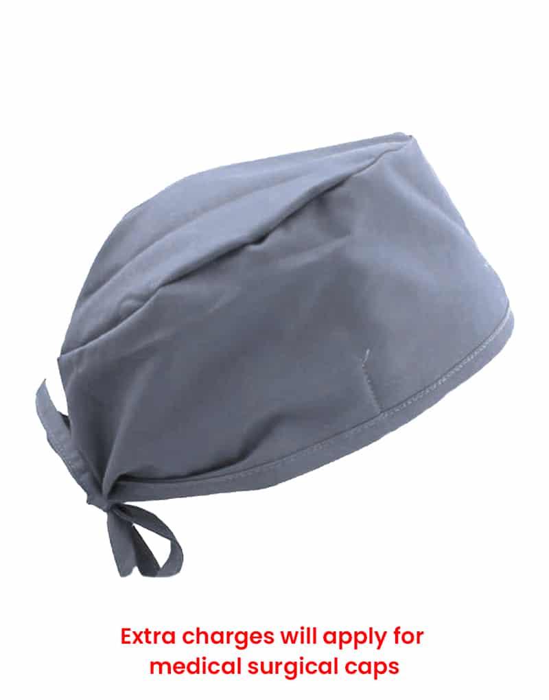 scrub cap grey