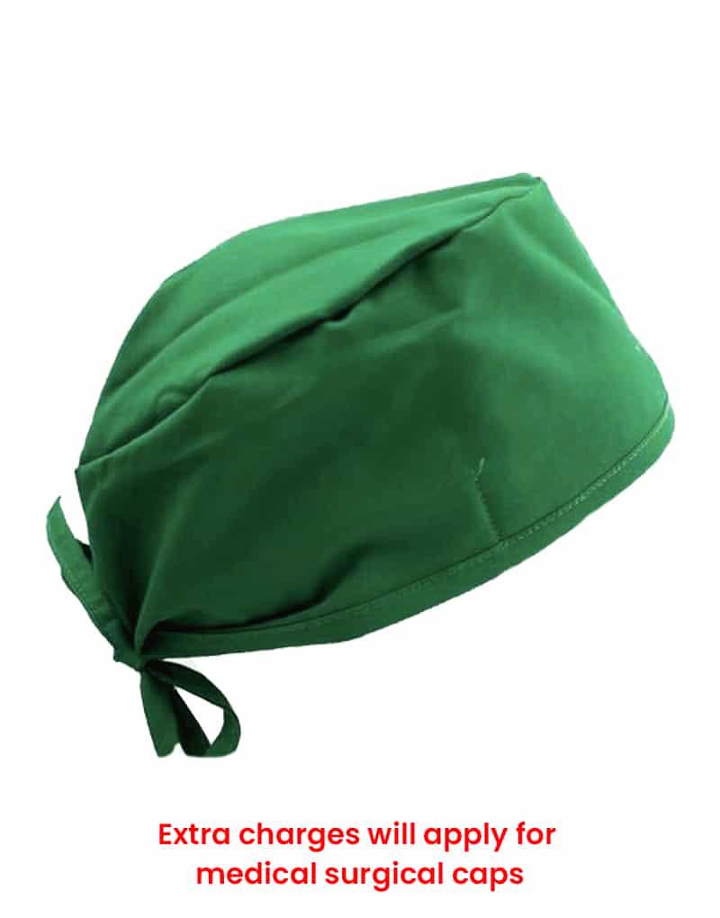 scrub cap spanich green
