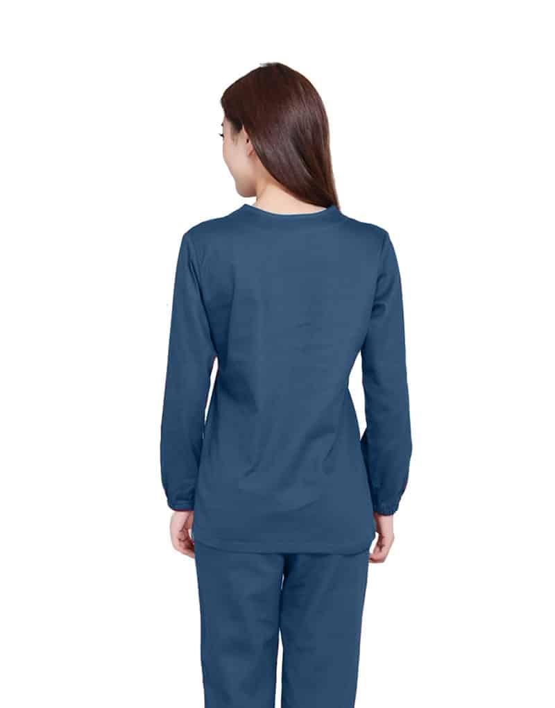 Teal Medical Uniform Scrub -Full Sleeve