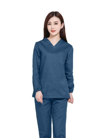 Teal Medical Uniform Scrub -Full Sleeve