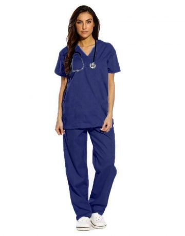 scrub-back-navy-blue
