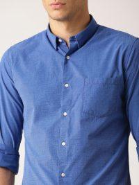 Men's Blue Formal Shirt