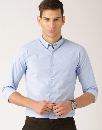 Men's Light Blue Formal Shirt