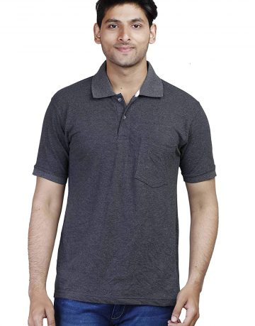 Men's Dark Grey Polo t-shirt