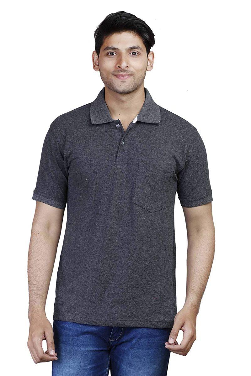 Men's Dark Grey Polo t-shirt