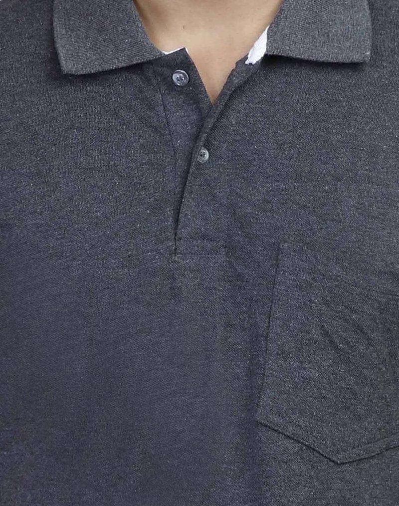 dark Grey polo t shirt
