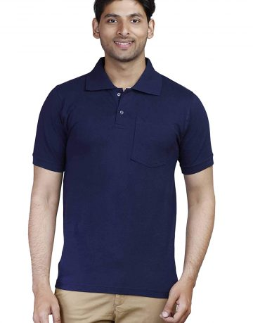 Men's Navy Blue Polo t-shirt