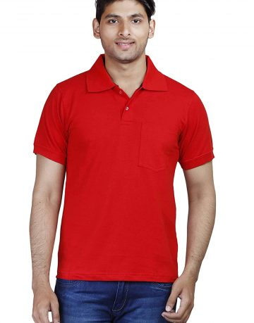 Men's Red Polo t-shirt