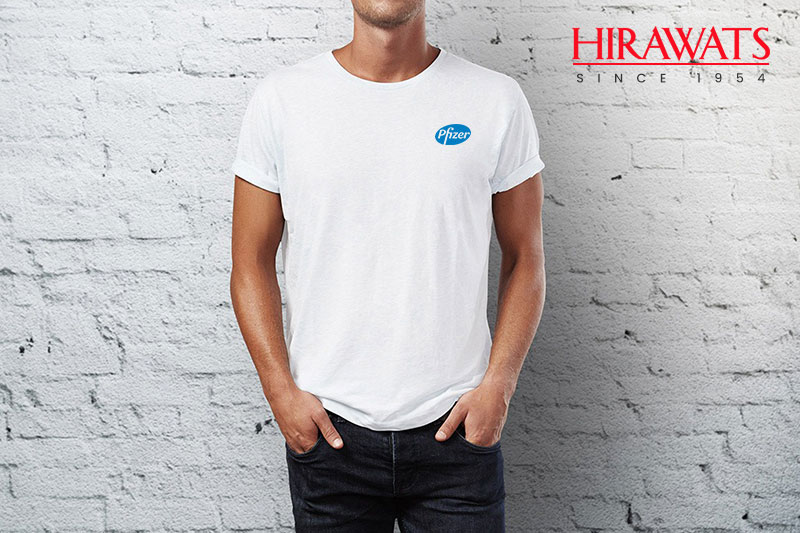 T Shirt with Customized Logo