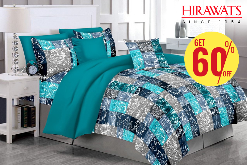 60% Off on Bed sheets