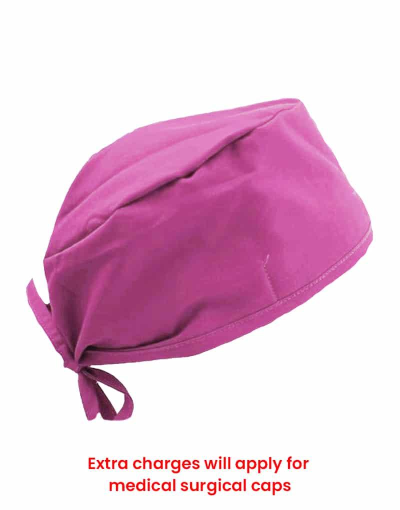 scrub cap pink