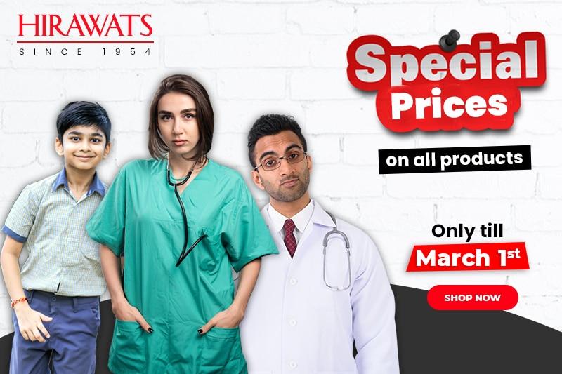 Medical Scrubs, Uniforms and Lab Coats