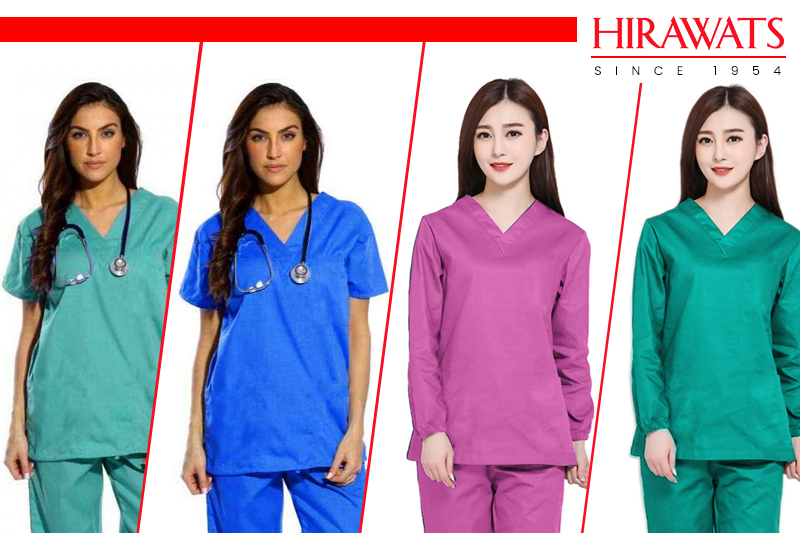 Multiple Colored Scrubs