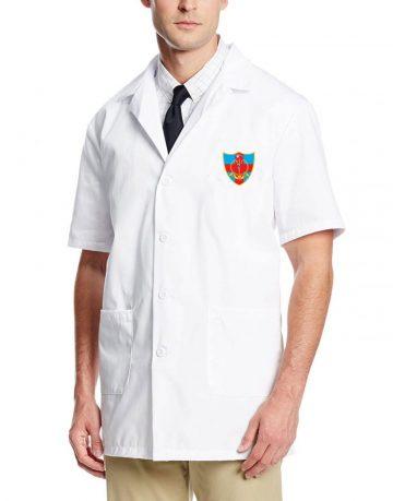 lab coat front AMC