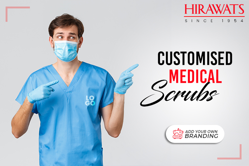 Customized Medical Scrubs with Brandng