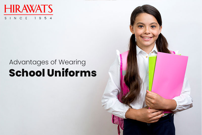 Wearing School Uniforms
