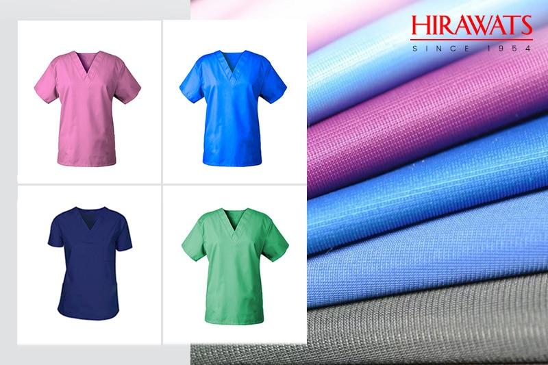 Medical Scrubs with Spun Fabric